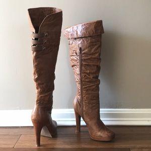 Jessica Simpson tall high heel boots